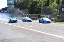 Thed Bjork, Nicky Catsburg e Nestor Girolami, Volvo S60 Polestar TC1