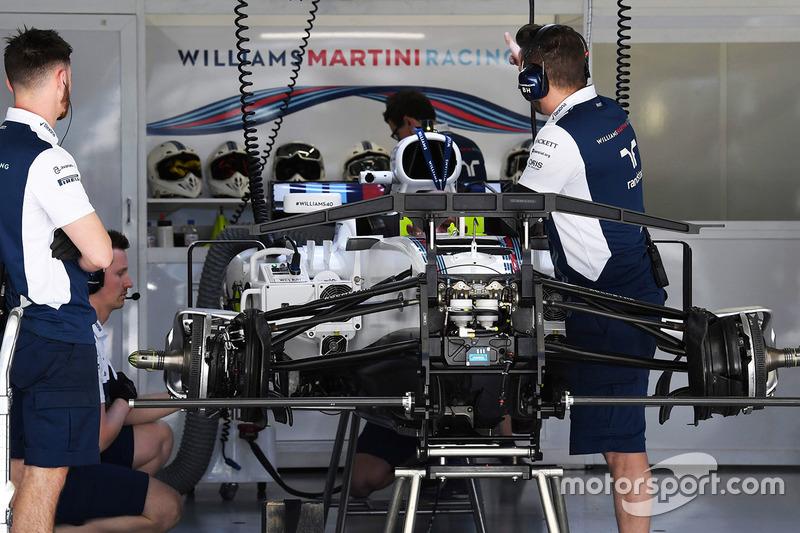 Сборка Williams FW40