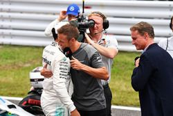 Lewis Hamilton, Mercedes AMG F1 y Jenson Button