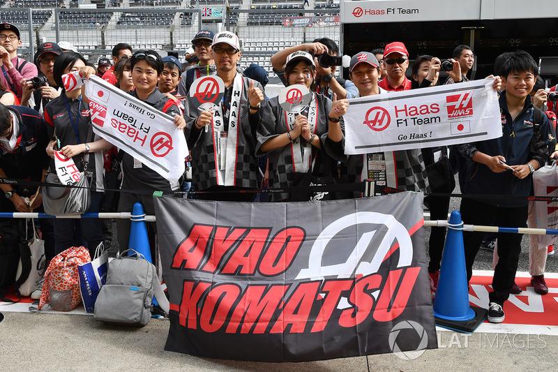 Уболівальники Haas F1