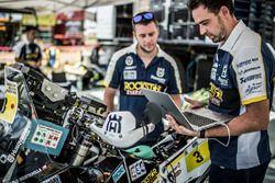 Механики Пабло Квинтанильи: #3 Husqvarna Factory Racing