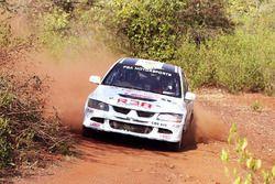 Abhilash P.G, Srikant Gowda G.M, 3A PGA Motor Sports Mitsubishi EVO