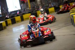 Robin Frijns, Amlin Andretti Formula E Team leads Jérôme d'Ambrosio, Dragon Racing