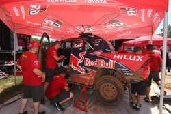 Toyota Hilux команды Toyota Gazoo Racing