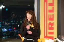 モリワキのチームマネージャー、森脇緑