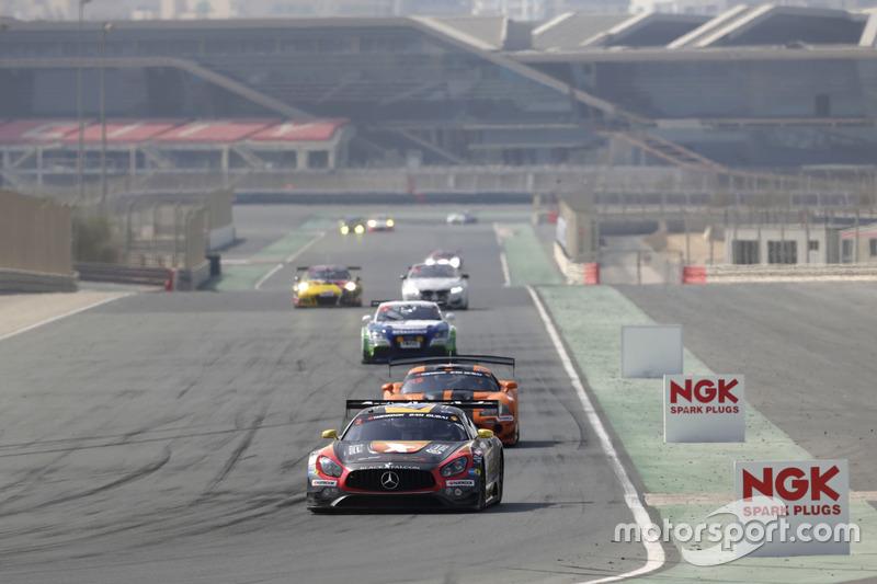 #2 Black Falcon Mercedes AMG GT3: Khaled Al Qubaisi, Jeroen Bleekemolen, Patrick Assenheimer, Manuel Metzger