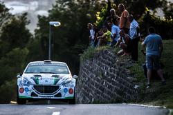 Cédric Althaus, Jessica Bayard, Peugeot 208, Lugano Racing Team