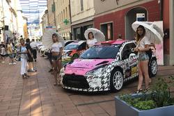 Grid Girl Citroen DS3 WRC, Mirko Puricelli
