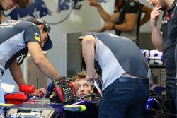Carlos Sainz Jr., Scuderia Toro Rosso y Daniil Kvyat, Scuderia Toro Rosso