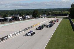 Partenza: Colton Herta, Andretti-Steinbrenner Racing al comando