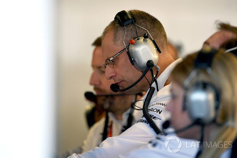 Tony Ross, Mercedes AMG F1 Yarış mühendisi
