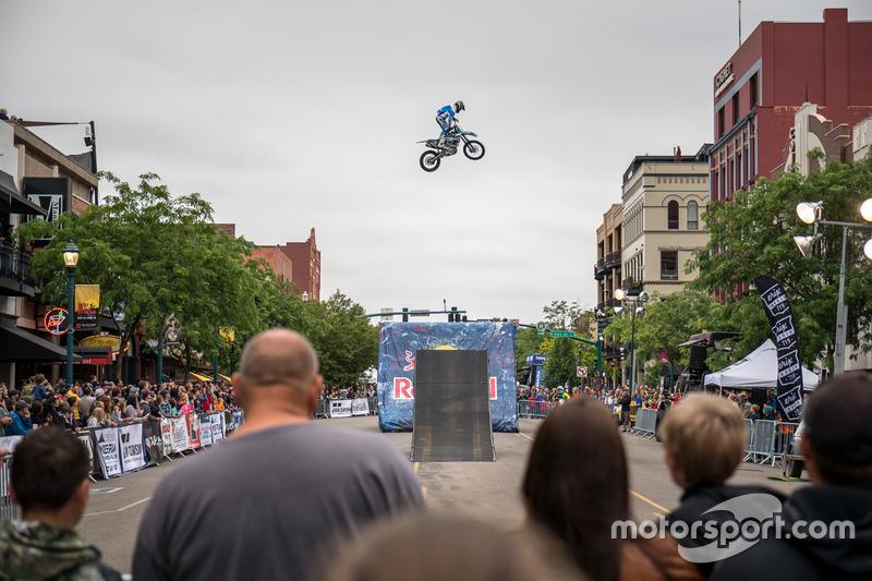 Demostración de Motocross