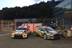 Kevin Gilardoni, Corrado Bonato, Ford Fiesta WRC, Movisport, und Michael Burri, Andersson Levratti,