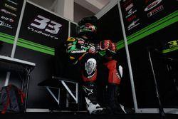SS600: Ahmad Yudhistira, Manual Tech KYT Kawasaki Racing