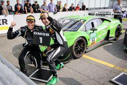 Sieger #63 GRT Grasser Racing Team, Lamborghini Huracán GT3: Rolf Ineichen, Christian Engelhart