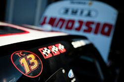 Sam Hornish Jr., Team Penske Ford con un tributo a Ted Christopher