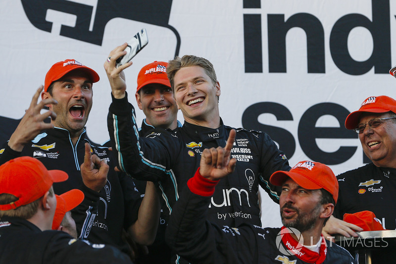 2017-kampioen Josef Newgarden, Team Penske Chevrolet
