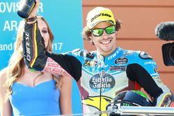 Podium: race winner Franco Morbidelli, Marc VDS