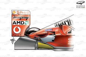 Ferrari F2002 (653) 2002 stepped diffuser