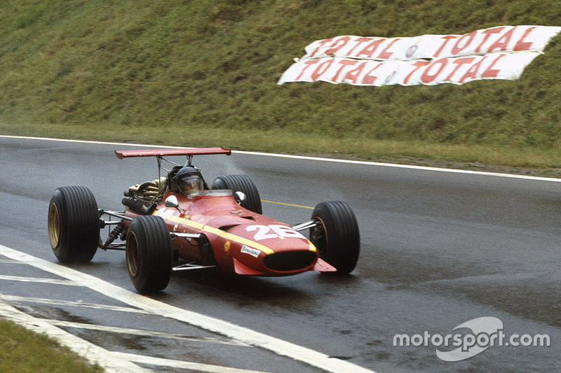 2: Jacky Ickx, 23 07 03, Germany 1968
