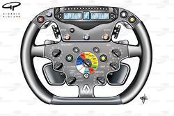 Volant de la Renault R29 (Alonso)