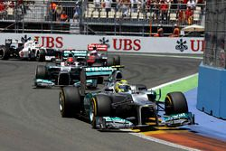 Nico Rosberg, First Mercedes AMG F1 Fastest Race Lap - Europe 2012