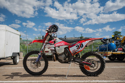 La moto de Stuart Gregory