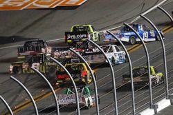 John Hunter Nemechek, SWM-NEMCO Motorsports Chevrolet choque