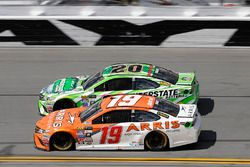 Daniel Suarez, Joe Gibbs Racing Toyota, Matt Kenseth, Joe Gibbs Racing Toyota
