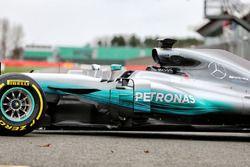 Mercedes AMG F1 W08 Hybrid: Seitenansicht