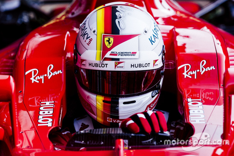 Lundi : Sebastian Vettel, Ferrari