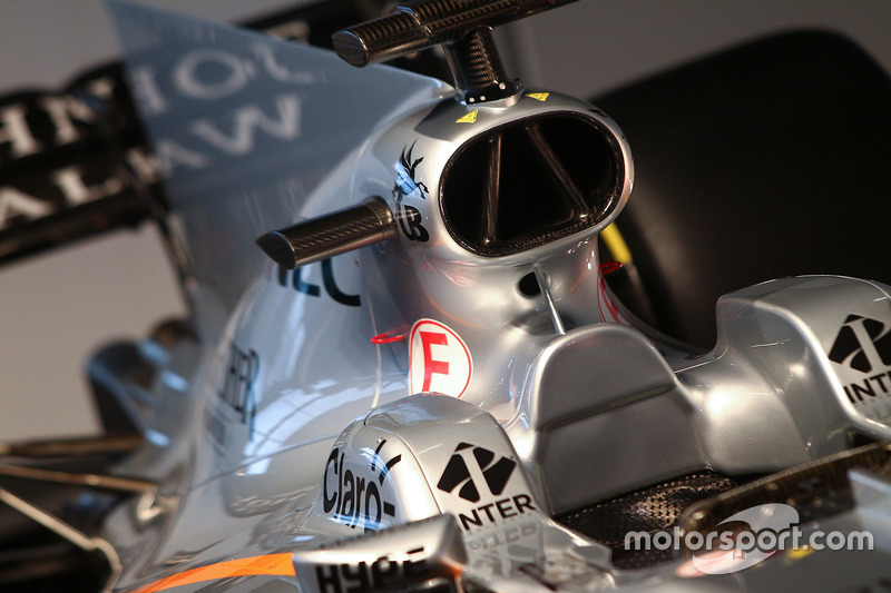 Force India VJM10: Airbox