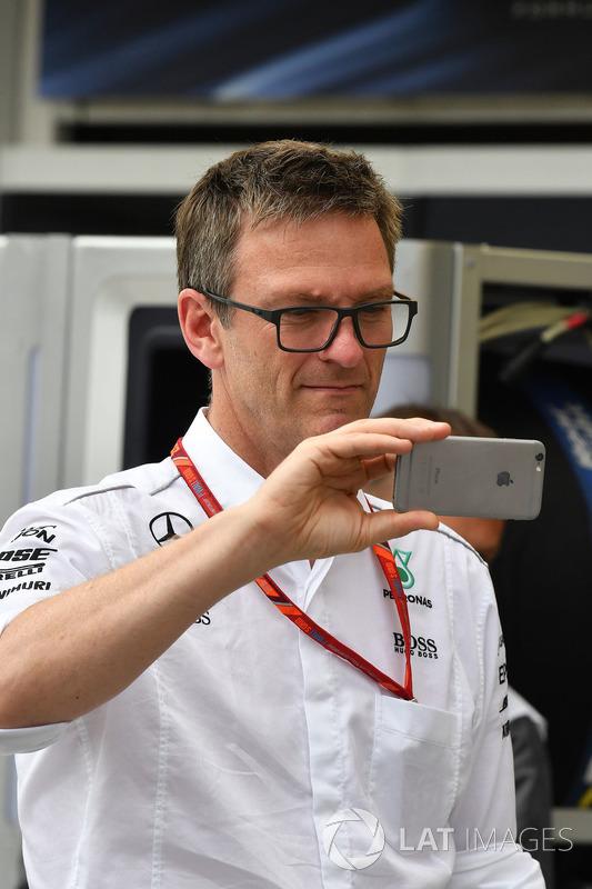James Allison, Mercedes director técnico