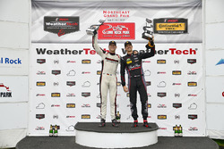 GTD Podium: first place Patrick Lindsey, Jörg Bergmeister, Park Place Motorsports