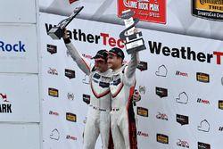 GTLM Podium: race winners Patrick Pilet, Dirk Werner, Porsche Team