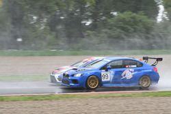 Stefano Comini, Subaru STI TCR affianca Alessandro Thellung, BF Racing, Seat Leon-TCR