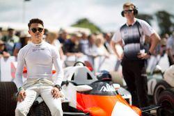 Nyck de Vries, McLaren MP4/2 TAG Porsche
