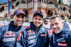 Stéphane Peterhansel, Cyril Despres, Sébastien Loeb, Peugeot Sport