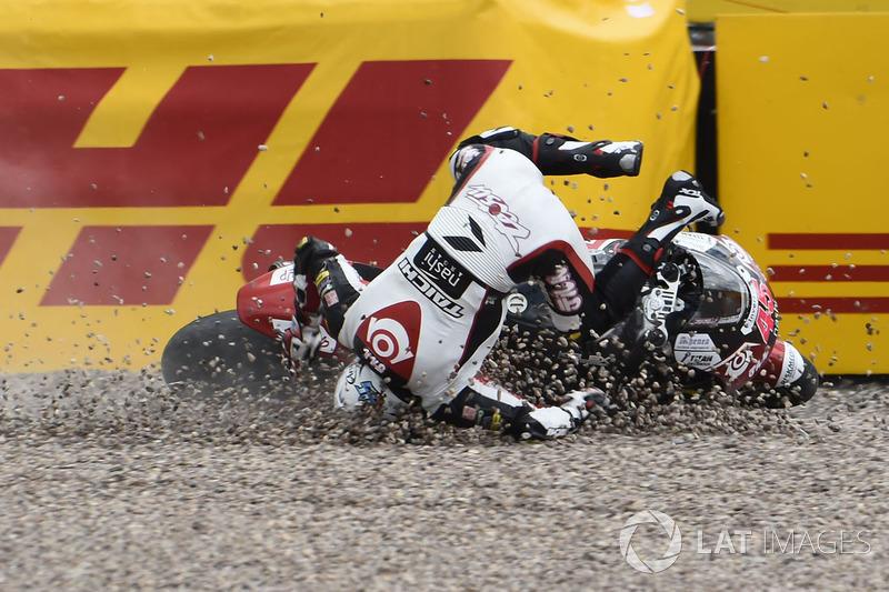 Accidente de Tetsuta Nagashima, SAG Racing Team