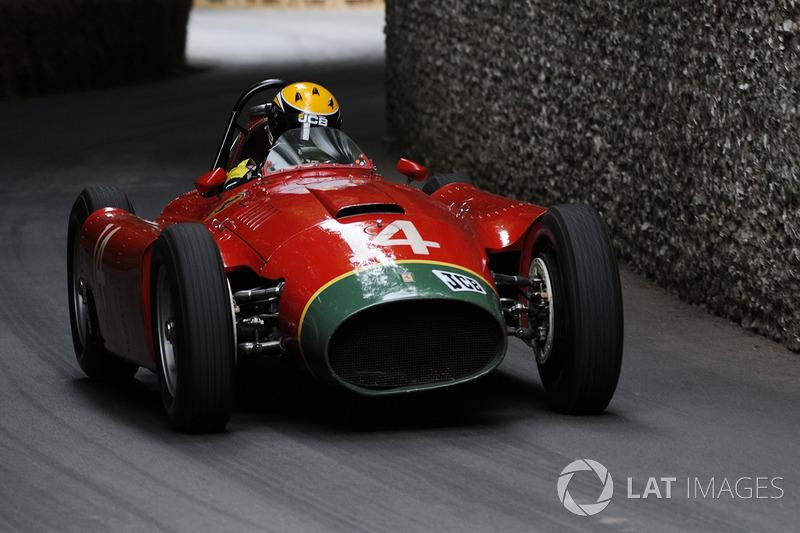Andy Newall, Lancia Ferrari D50A