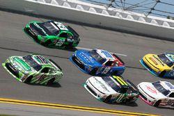 Daniel Suárez, Joe Gibbs Racing Toyota Blake Koch, Kaulig Racing Chevrolet Matt Tifft, Joe Gibbs Rac