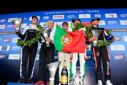Tiago Monteiro, Honda Racing Team JAS, Honda Civic WTCC, ganador, Mehdi Bennani, Sébastien Loeb Raci