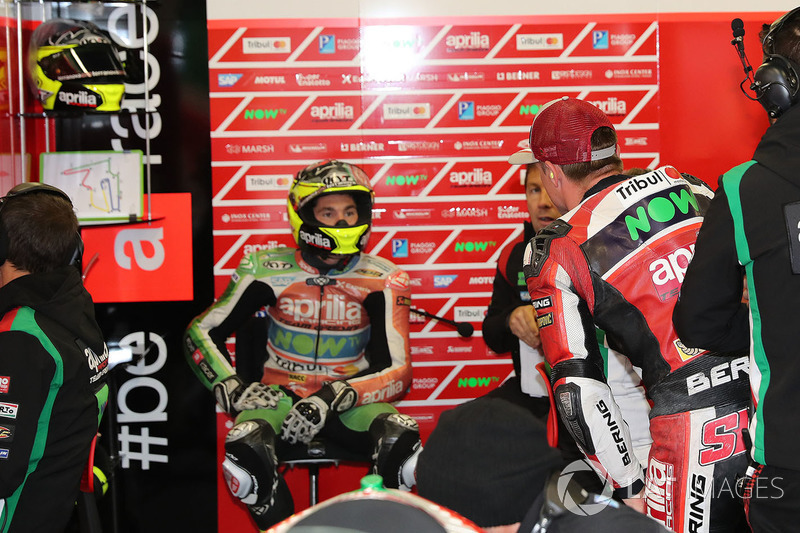 Aleix Espargrao and Sam Lowes, Aprilia Racing Team Gresini