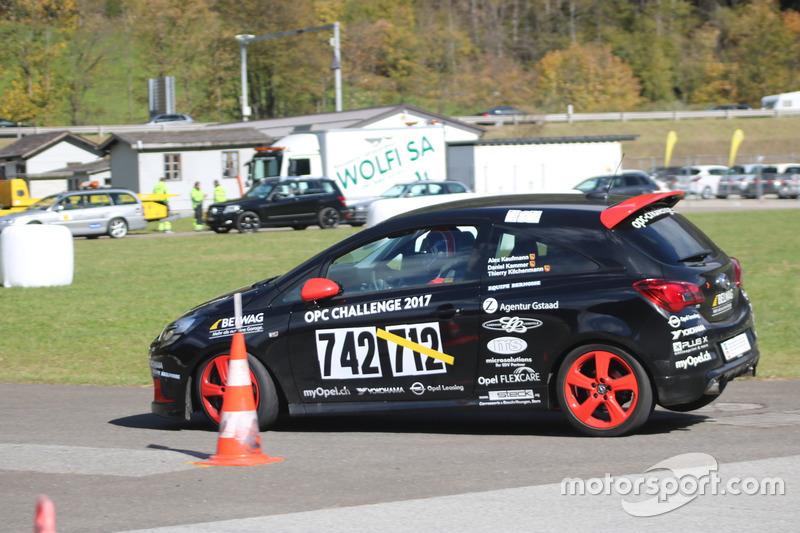 Thierry Kilchenmann, Opel Corsa OPC, Belwag Racing Team, Course 2