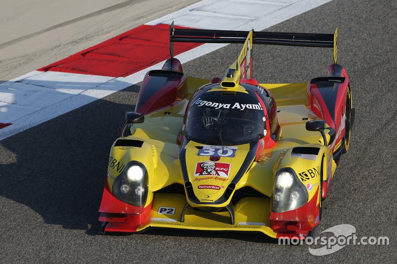 4. LMP2: #30 Extreme Speed Motorsports, Ligier JS P2 - Nissan: Tom Dillmann, Sean Gelael, Giedo van der Garde