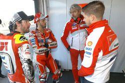 Cal Crutchlow, Team LCR Honda, Andrea Dovizioso, Ducati Team, Gigi Dall'Igna, Ducati Team General Ma