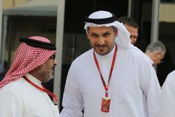 Muhammad Al Khalifa, presidente del circuito de Bahréin