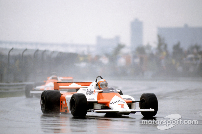 1981-1982 : McLaren MP4/1, à moteur Ford Cosworth