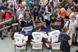 Will Owen, Hugo De Sadeleer, Filipe Albuquerque, United Autosports