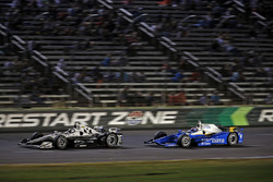 Simon Pagenaud, Team Penske Chevrolet, Scott Dixon, Chip Ganassi Racing Honda